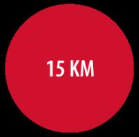 15 kilometer